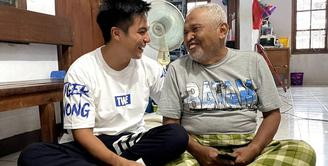 Baim Wong dan kakek Suhud (Instagram/baimwong)