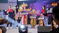 Para pemenang kontes baju adat pada penyelenggaraan Mobile Legends Bang Bang (MLBB) Carnival 2019 seri Tangerang.  (FOTO / MLBB)