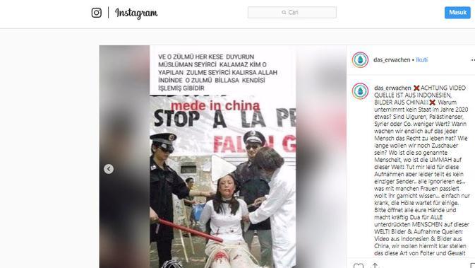 Cek fakta kabar viral di Jerman (Instagram)