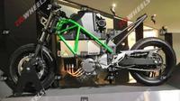 Kawasaki mulai mengembangkan motor listrik. (Zigwheels)