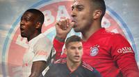 Bayern Munchen - Pemain yang Bisa Tinggalkan Bayern Munchen: Thiago, David Alaba, Lucas Hernandez (Bola.com/Adreanus Titus)