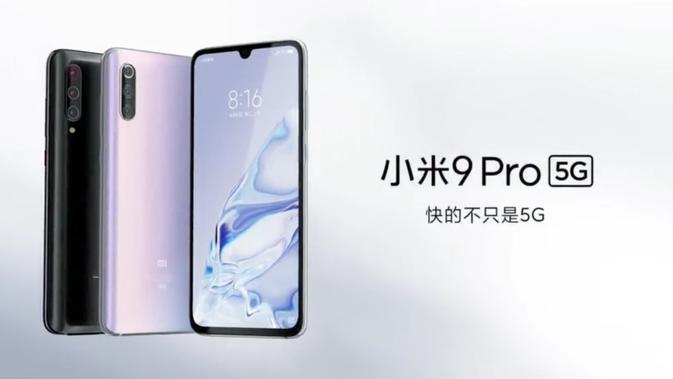 Xiaomi umumkan Mi 9 Pro 5G, smartphone 5G paling murah di pasaran saat ini. (Doc: Xiaomi)
