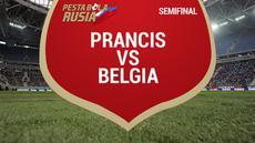 Timnas Prancis melaju ke final Piala Dunia 2018 usai menaklukkan Belgia dengan skor 1-0 di semifinal.