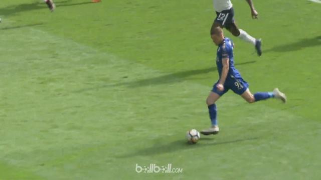 Berita video momen gol Jamie Vardy, yang nanti aksi dan golnya dinanti di Piala Dunia 2018 bersama Timnas Inggris. This video presented by BallBall.