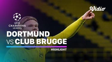 Berita video highlights matchday 4 Grup F Liga Champions 2020/2021, Borussia Dortmund menaklukkan Club Brugge berkat dua gol dari Erling Haaland, Rabu (25/11/2020) dinihari WIB.