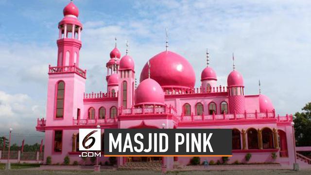 Deretan Masjid Berwarna Pink di Seluruh Dunia
