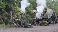 Tentara Filipina saat melaksanakan operasi militer di Maguindanao (3/7/2018) (Armed Forces of the Philippines)