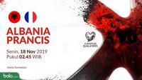 Kualifikasi Piala Eropa 2020 - Albania Vs Prancis (Bola.com/Adreanus Titus)