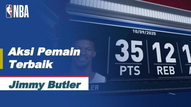 Berita Video Jimmy Butler cetak 35 poin saat Miami Heat kalahkan LA LAkers 111-108