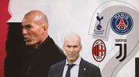 Zinedine Zidane. (Bola.com/Dody Iryawan)