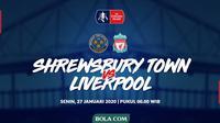 Piala FA - Shrewsbury Town Vs Liverpool (Bola.com/Adreanus Titus)