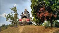 Taman Patung Semar, Karangpandan, Karanganyar. (Solopos.com/Chelin Indra Sushmita)