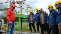 Wakil Ketua Komisi XI Marwan Cik Asan melakukan kunjungan ke PLTP unit Patuha, diterima jajaran Direksi PT Geo Dipa Energi,