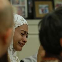 Suasana Rumah Duka Alm. Fery Wijaya (Suami Ririn Ekawati) (Adrian Putra/bintang.com)