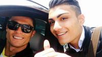 Ronaldo look-a-like.