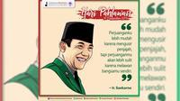 Hari Pahlawan - Soekarno (Liputan6/pool/GerakanPramuka)