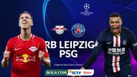 Liga Champions - RB Leipzig Vs Paris Saint-Germain - Head to Head (Bola.com/Adreanus Titus)