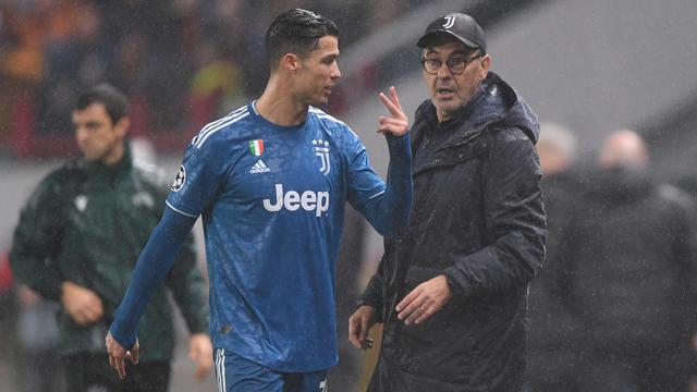 Wajah Kesal Cristiano Ronaldo Saat Ditarik Keluar Lapangan