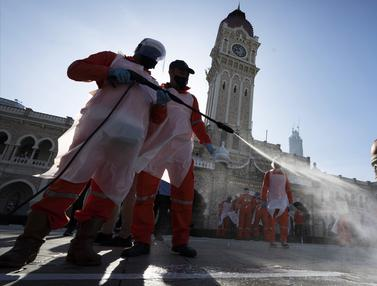 FOTO: Kasus COVID-19 Meningkat, Malaysia Akan Batasi Pergerakan