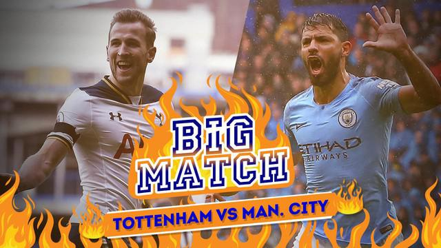 Berita Video Tottenham Hotspur Vs Manchester City, Duel Dua Striker Haus Gol