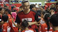 Manajer Tim PB Djarum Fung Permadi. (Liputan6.com/Huyogo Simbolon)