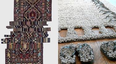 7 Desain Karpet Ini Bikin Takjub, Ada yang Diukir Langsung di Lantai