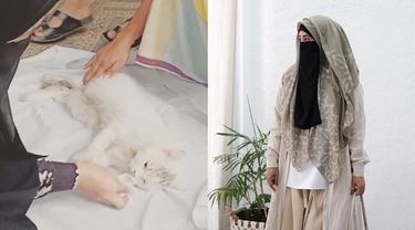 6 Momen Haru Umi Pipik Kuburkan Kucing Usai Kecelakaan, Bikin Tersentuh