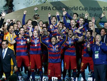 20151220-Bantai River Plate, Barcelona Rebut Trofi Piala Dunia Antarklub-Jepang