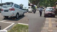 Potret parkir mobil yang membuat resah (parkirlobangsat)