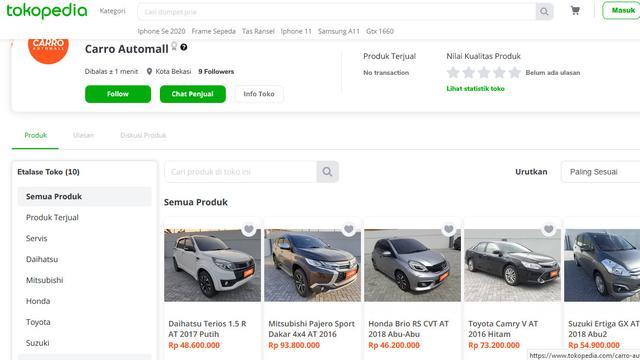 Beli Mobil Bekas Bersertifikasi Di Carro Automall Bisa Lewat Tokopedia Tekno Liputan6 Com