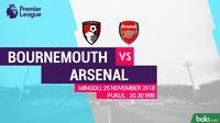 Premier League AFC Bournemouth Vs Arsenal (Bola.com/Adreanus Titus)