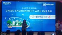 Launching environment with KKB BRI (Foto:Liputan6.com/Athika R)