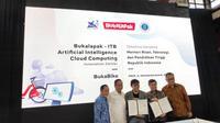 Pembukaan pusat riset Bukalapak di ITB, Bandung, Jumat (1/2/2019). Liputan6.com/ Agustinus Mario Damar