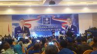 Zulkifi Hasan menutup Kongres PAN di Kendari (Nanda Perdana Putra/Liputan6.com)