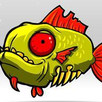 Ini benar-benar aneh tapi nyata. Seekor ikan sudah dibedah isi perutnya tapi dia masih bisa 'kabur' dari genggaman!