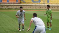 Bek Brasil Fabiano Beltrame diproyeksikan memperkuat Persib B setelah Blitar United diakuisisi manajemen Persib. (Liputan6.com/Huyogo Simbolon)