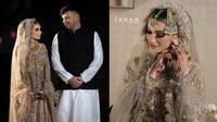Potret Pernikahan Waliyha Malik Adik dari Zayn Malik. (Sumber: Instagram/jananofficial)