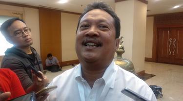 Bendahara Umum Tim Kampanye Nasional Jokowi-Ma'ruf, Wahyu Sakti Trenggono.