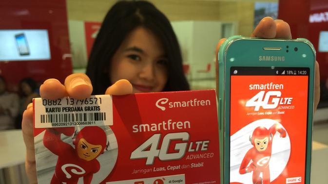 Samsung Galaxy J1 Ace yang dibundling dengan Smartfren (Sumber: Smartfren)