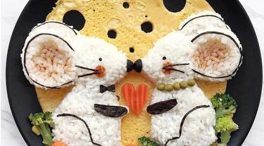 Seniman Bikin Karya dari Makanan, Ini 7 Potretnya yang Mengagumkan