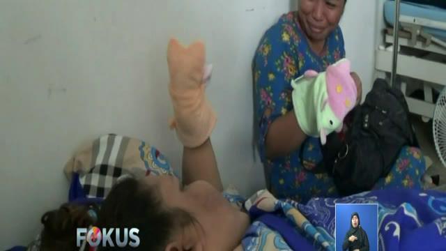 Empat hari usai operasi pengecilan lambung, kondisi Titi Wati makin membaik.