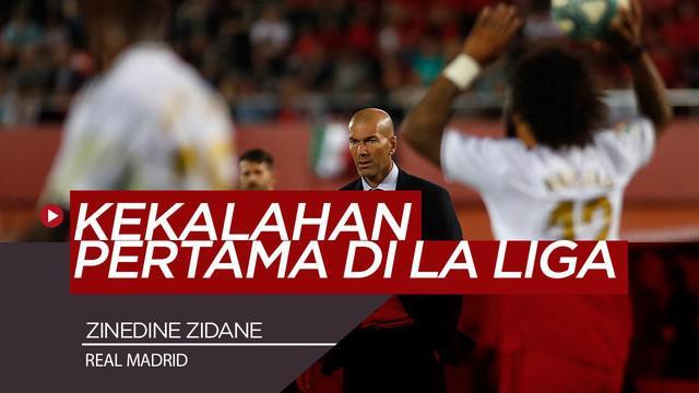 Berita Video Luapan Kekecewaan Zidane Saat Real Madrid Kalah dan Digusur Barcelona