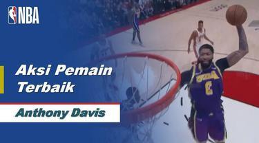 Berita Video Aksi Terbaik Anthony Davis Saat LA Lakers Kalahkan Blazers 136-113