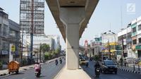 Suasana Jalan RS Fatmawati Raya, Jakarta, Selasa (10/9/2019). Penerapan perluasan aturan ganjil genap di sejumlah ruas jalan Ibu Kota berimbas pada lenggangnya arus lalu lintas di kawasan tersebut. (Liputan6.com/Immanuel Antonius)