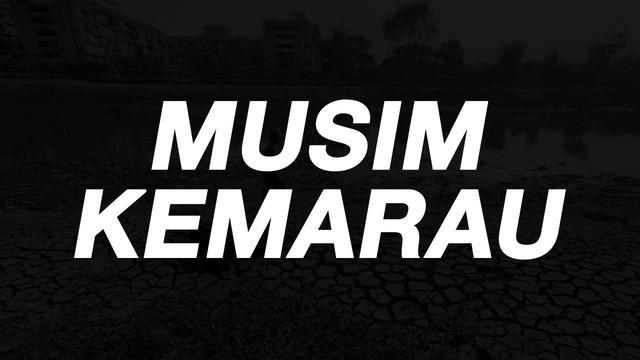 Badan Meteorologi, Klimatologi, dan Geofisika (BMKG) memberikan peringatan dini mengenai kekeringan Meteorologis yang akan dialami DKI Jakarta serta Banten di musim kemarau ini.