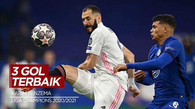 Berita Video 3 Gol Terbaik Semifinal Liga Champions, Ada Gol Karim Benzema
