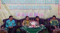 Penyuluhan pertanian di Kabupaten Banjar.