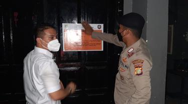 Tempat hiburan malam di Bekasi disegel karena langgar prokes saat PPKM level 3