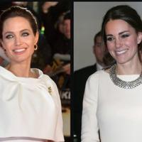 Angelia Jolie sepertinya telah menemukan orang yang tepat untuk mendengarkan isi hatinya soal Brad Pitt yakni, Kate Middleton. (TheGloss)