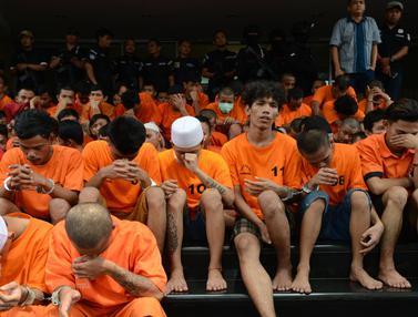 181 Bandit Terjaring Operasi Cipta Kondisi Polda Metro Jaya
